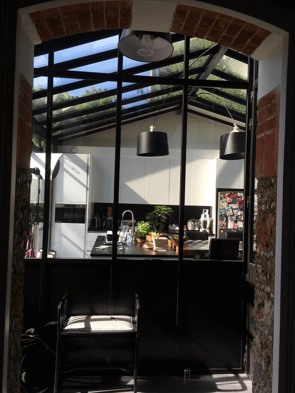Sas D Entrée Interieur façade-en-acier-de-séparation-intérieur-type-sas-d'entrée
